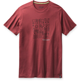 Smartwool Merino Sport 150 Shirt Park Vibes Graphic Men, masala